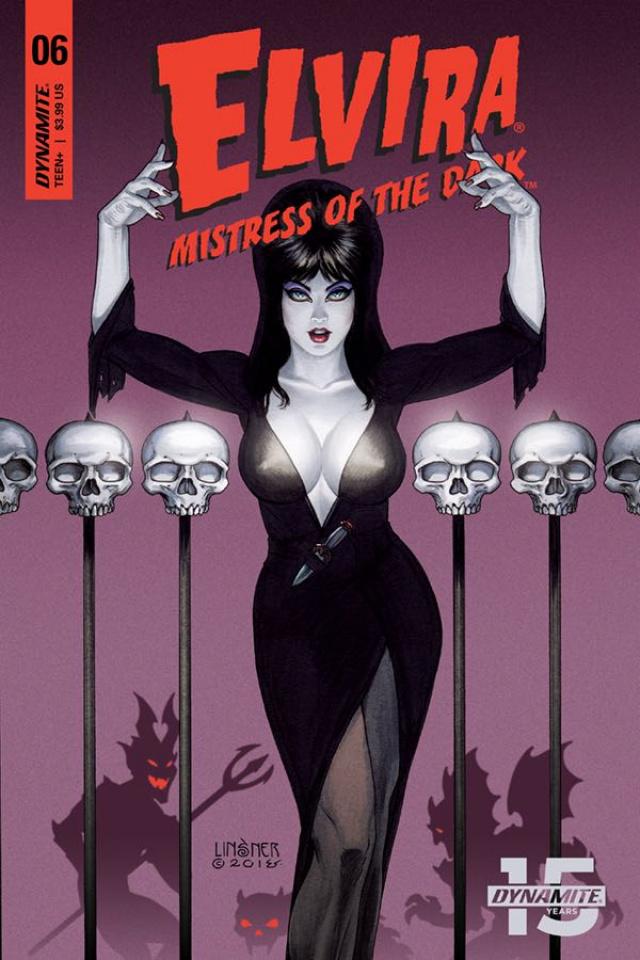 Elvira: Mistress of the Dark #6 (Linsner Cover)