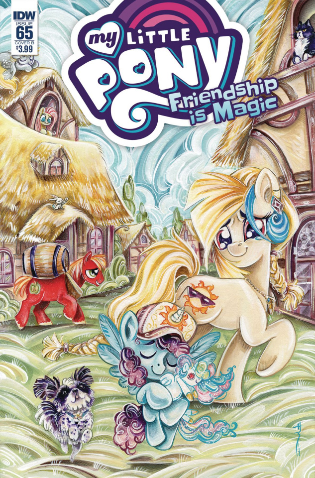 My Little Pony: Friendship Is Magic #65 (Richard Cover)