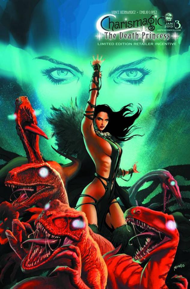 Charismagic: The Death Princess #3 (Mhan Cover)