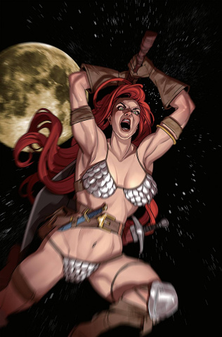 Red Sonja #24 (30 Copy Stott Virgin Cover)