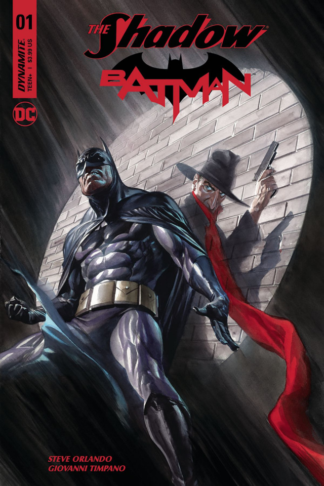 The Shadow / Batman #1 (Ross Cover)