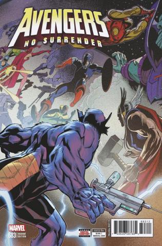 Avengers #683 (Medina 2nd Printing)