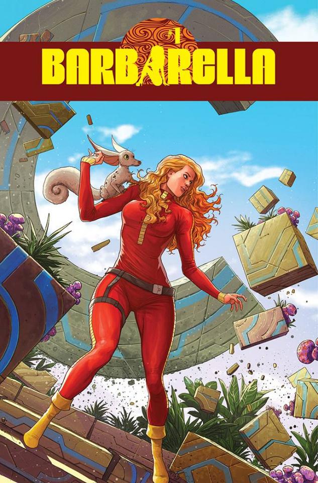 Barbarella #1 (10 Copy Musabekov Original Art Cover)