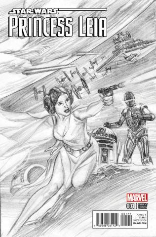 Princess Leia #1 (Ross Sketch Cover)