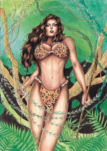 Cavewoman: Face Off #1 (Hivex Cover)