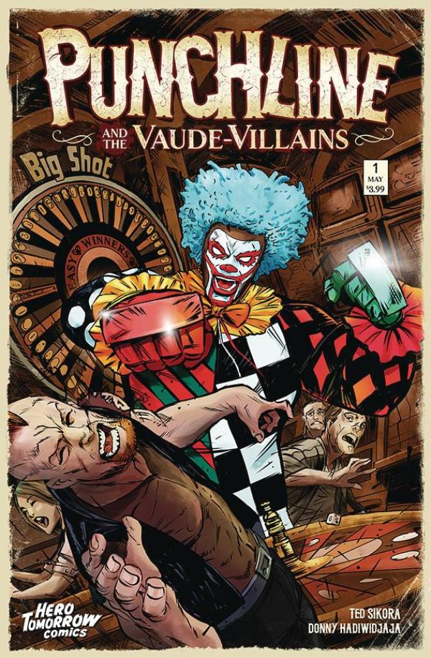 Punchline and the Vaude-Villains #1 (Hadiwidjaja Cover)
