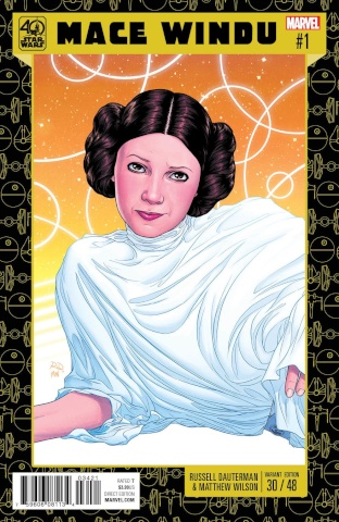 Star Wars: Mace Windu, Jedi of the Republic #1 (Dauterman Cover)