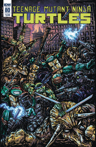 Teenage Mutant Ninja Turtles #80 (Eastman Cover)