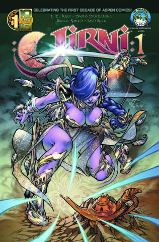 Jirni #1 (Direct Market Cover)