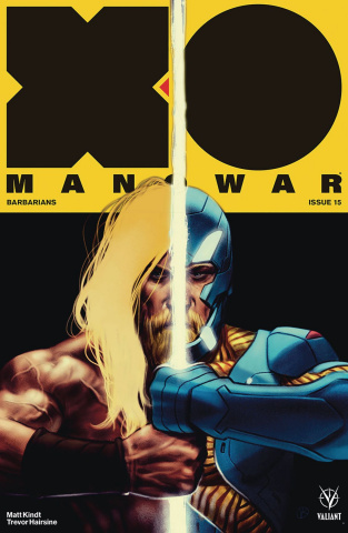 X-O Manowar #15 (50 Copy Icon Kalvachev Cover)