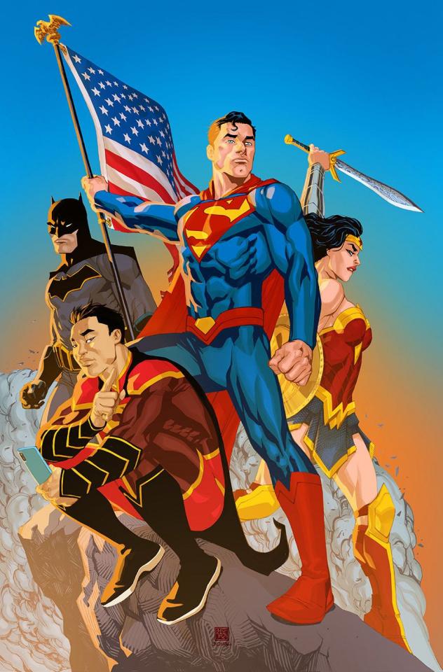 New Super-Man #17 (Variant Cover)