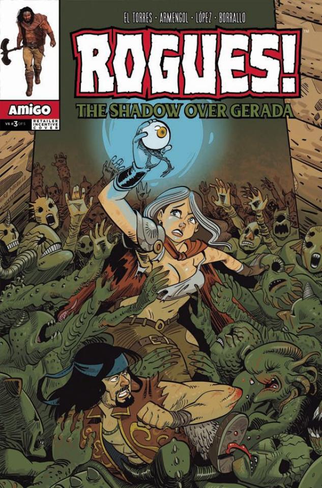 Rogues! The Shadow Over Gerada #3 (10 Copy Retailer Incentive Cover)
