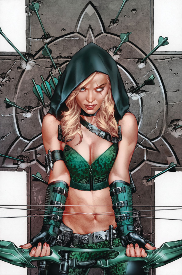 Robyn Hood: The Curse #4 (Anacleto Cover)