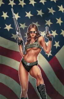 Grimm Fairy Tales Armed Forces Appreciation (Reyes Cover)