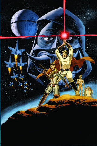 The Star Wars #1 (Mayhew Signed Cover)