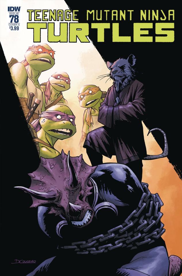 Teenage Mutant Ninja Turtles #78 (Couceiro Cover)