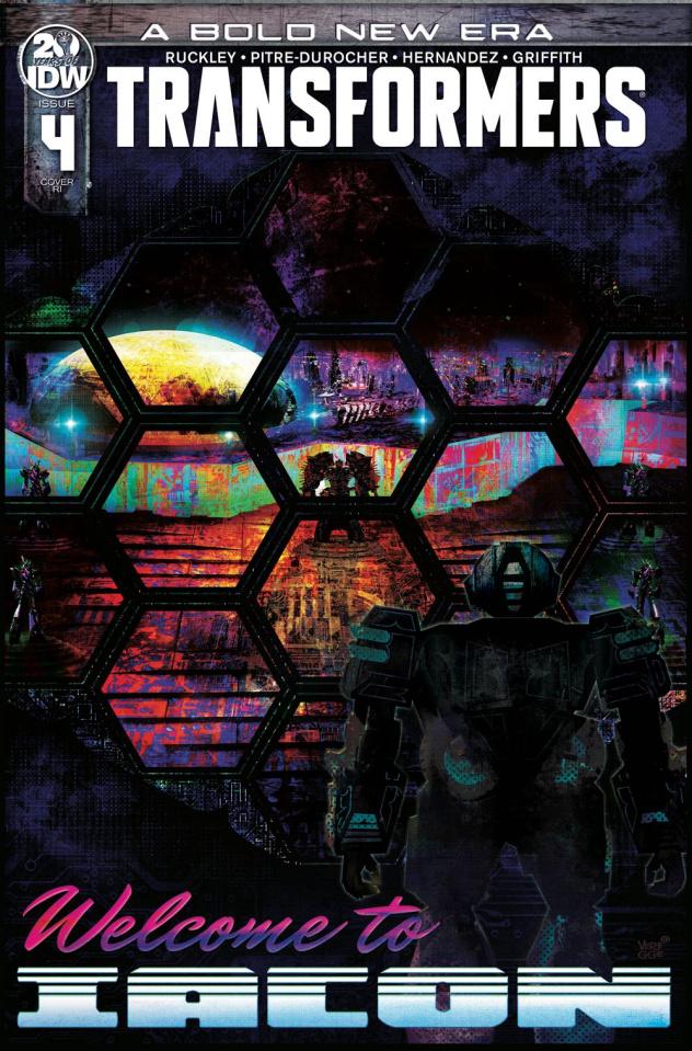 The Transformers #4 (10 Copy Veregge Cover)