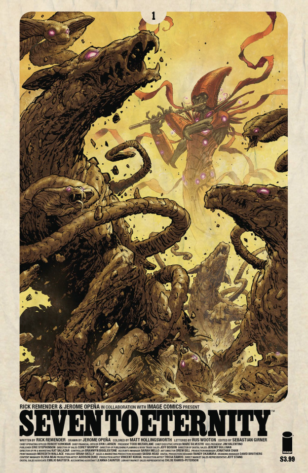 Seven to Eternity #1 (Moore Cover)