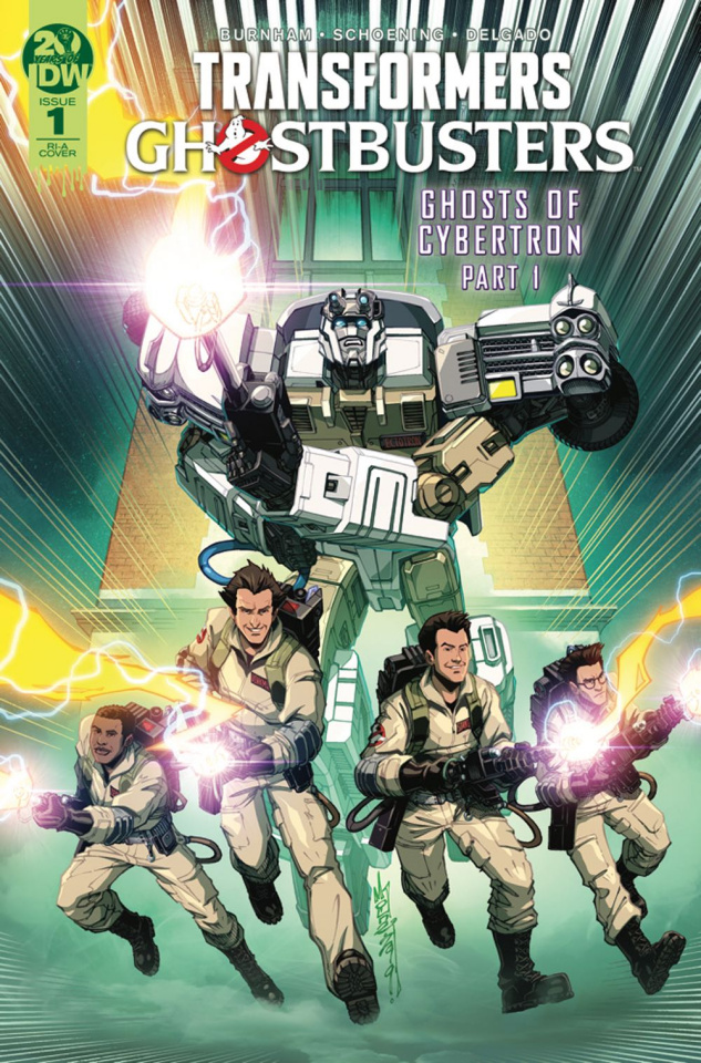 The Transformers / Ghostbusters #1 (10 Copy Milne Cover)