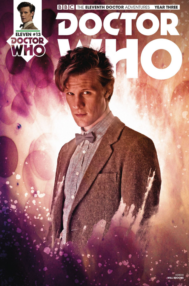 Doctor Who: New Adventures with the Eleventh Doctor, Year Three #13 (Photo Cover)