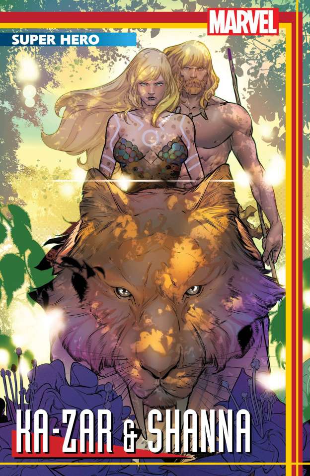 Ka-Zar: Lord of the Savage Land #1 (Silva Stormbreakers Cover)