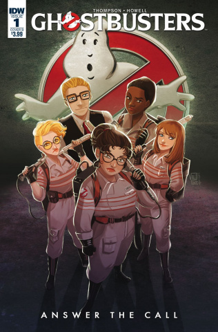 Ghostbusters: Answer the Call #1 (Pinto Cover)
