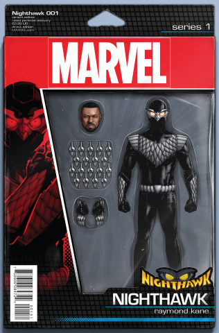 Nighthawk #1 (Christopher Action Figure Cover)