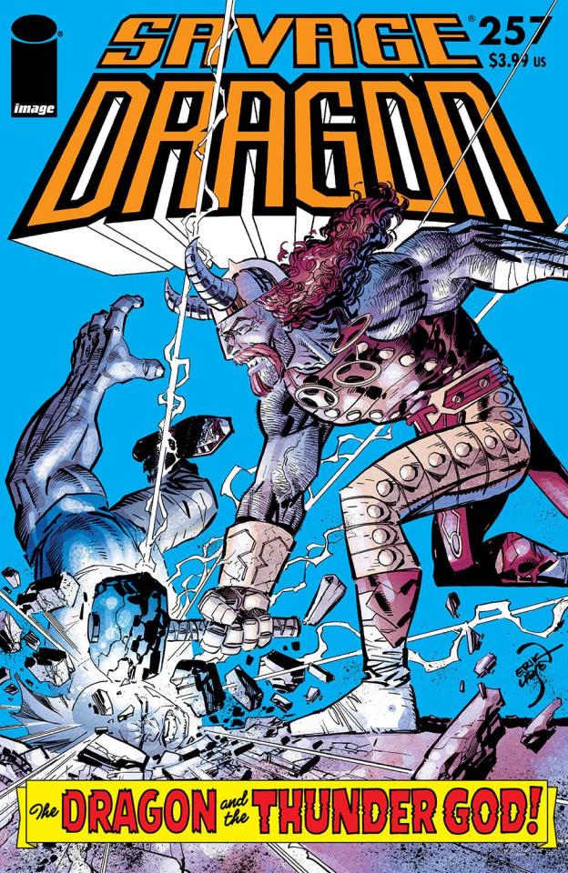 Savage Dragon #257 (Larsen Cover)