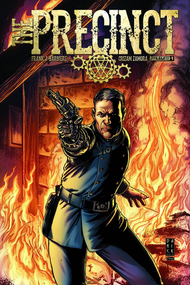 The Precinct #1 (Robertson Subscription Cover)