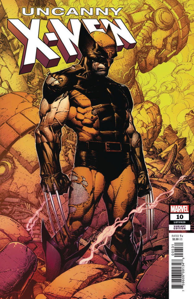 Uncanny X-Men #10 (Finch Cover)