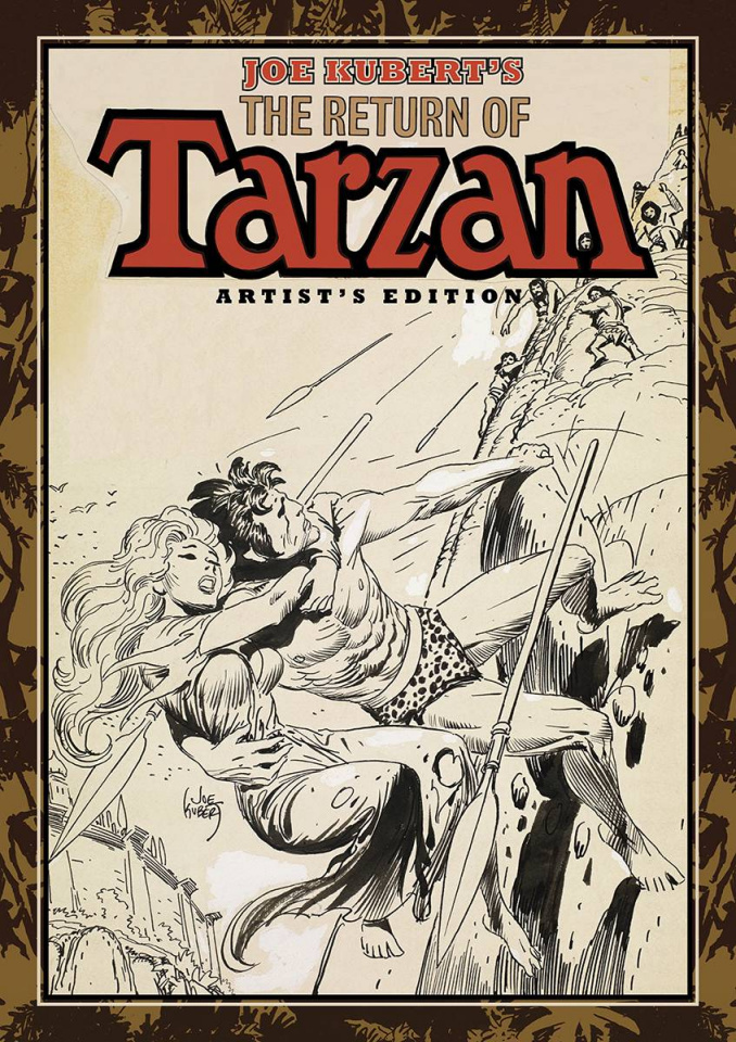 Joe Kubert: The Return of Tarzan Artist's Edition