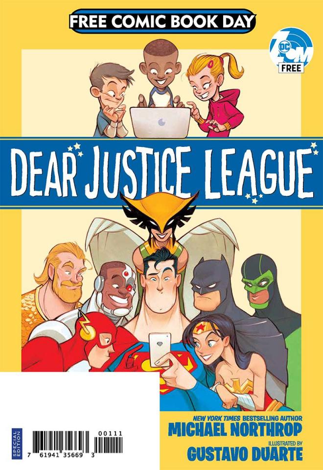 Dear Justice League (FCBD 2019)