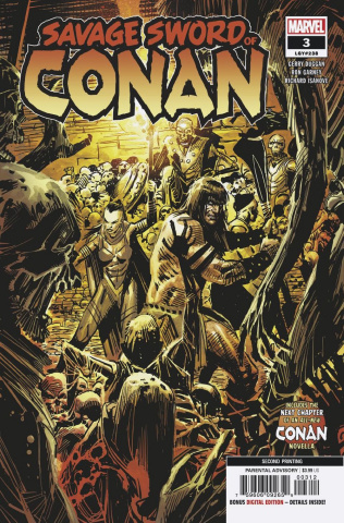 The Savage Sword of Conan #3 (Garney 2nd Printing)