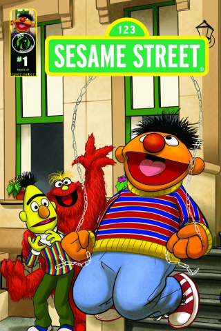 Sesame Street #1 (Imagination Cover D)