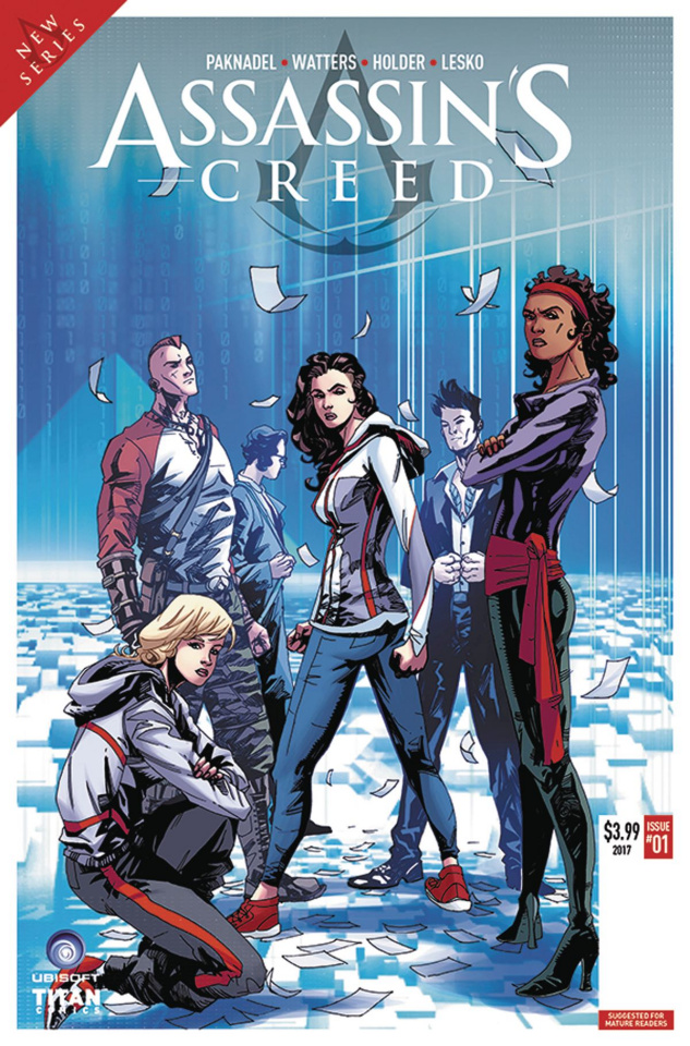 Assassin's Creed: Uprising #1 (Holder Cover)
