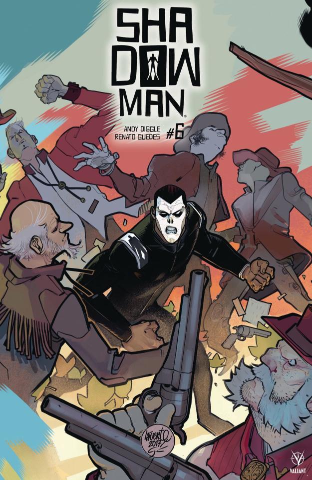 Shadowman #6 (20 Copy Lafuente Cover)