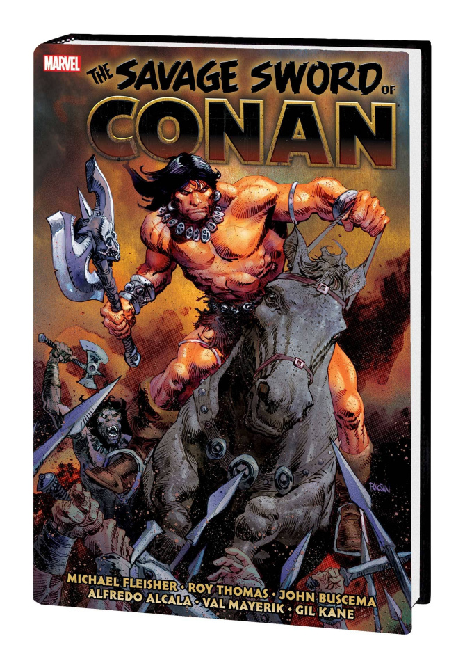The Savage Sword of Conan: The Original Marvel Years Vol. 6 (Omnibus)
