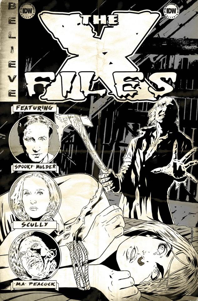 The X-Files, Season 11 #3 (10 Copy Cover)