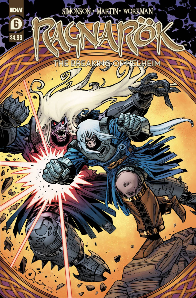 Ragnarök: The Breaking of Helheim #6 (Simonson Cover)