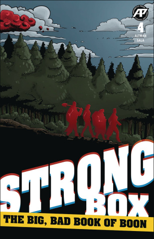 Strong Box: The Big, Bad Book of Boon #4