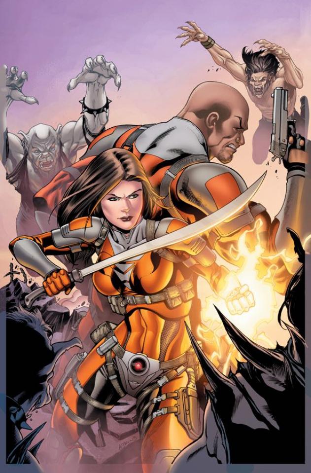 E.V.I.L. Heroes #5 (Atkins Cover)