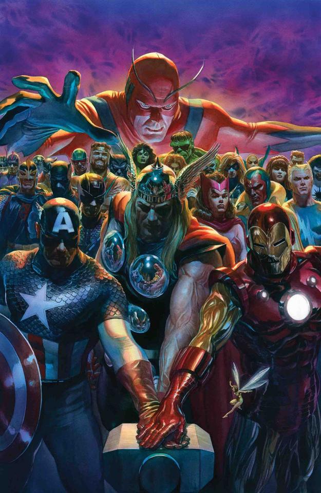 Avengers #10 (Ross Cover)