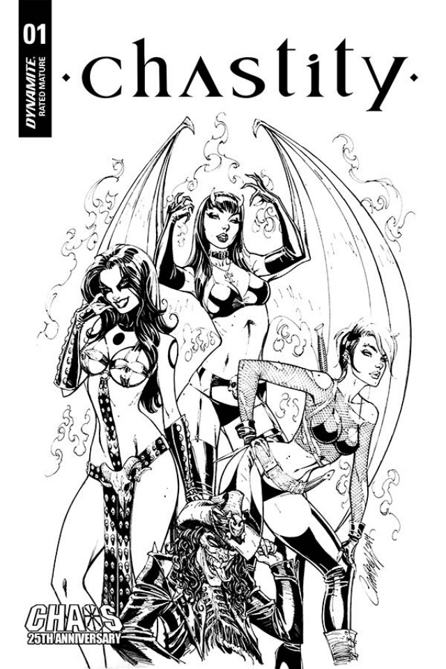 Chastity #1 (50 Copy Campbell B&W Cover)