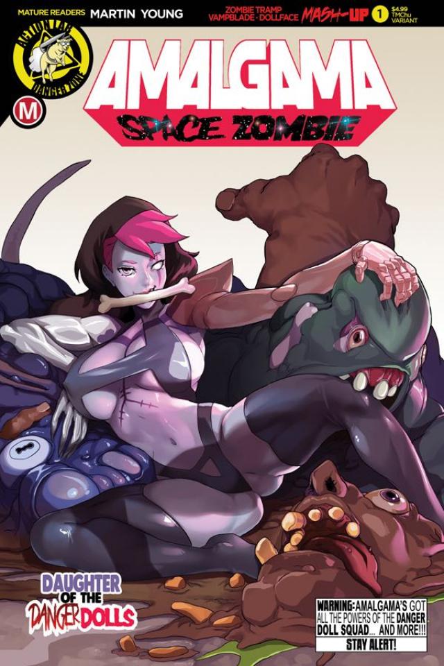 Amalgama: Space Zombie #1 (TMChu Cover)