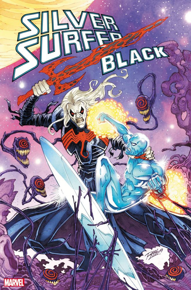 Silver Surfer: Black #5 (Ron Lim Cover)