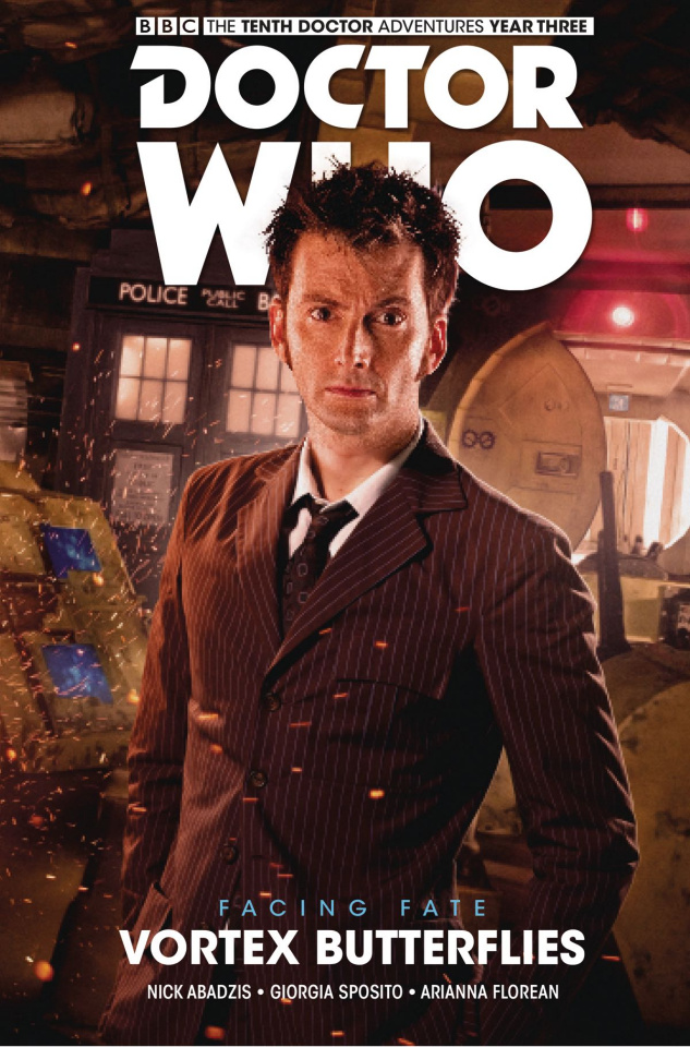 Doctor Who: New Adventures with the Tenth Doctor, Year Three - Facing Fate Vol. 2: Vortex Butterflies