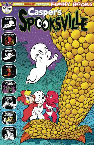 Casper's Spooksville #4 (Shanower Cover)