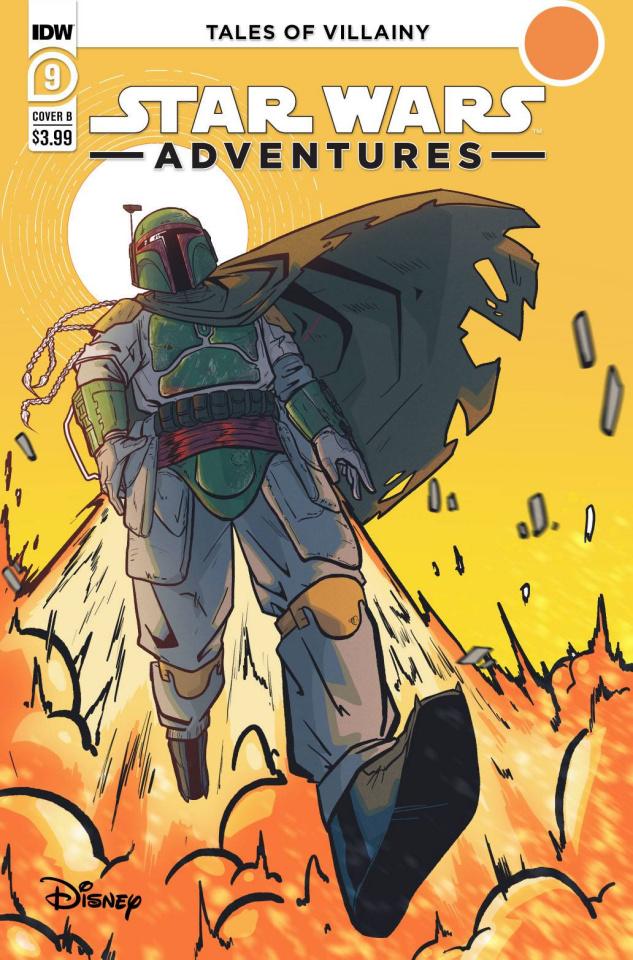 Star Wars Adventures #9 (Devaun Dowdy Cover)