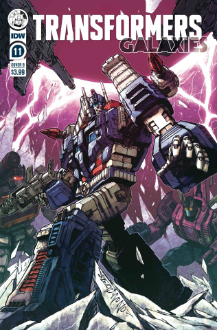 Transformers: Galaxies #11 (Milne Cover)