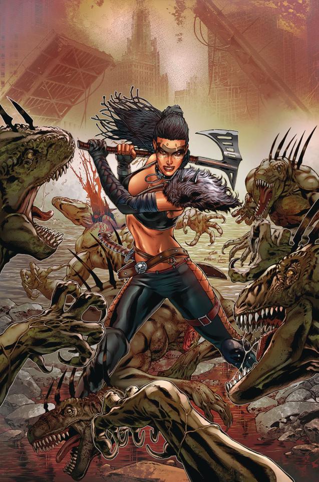 Monster Planet #4 (Vitorino Cover)